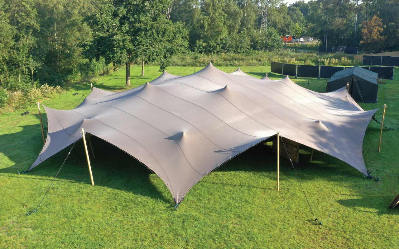 Infinity Series tents for hire and rent in Belgium
